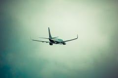 Arrecife, Ισπανία -22 το Μάρτιο του 2015: Το επιβατηγό αεροσκάφος Ryanair είναι τα larges Στοκ Φωτογραφίες