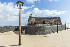 Arrecife και Castle του SAN Gabriel, Lanzarote, Κανάρια νησιά, S Στοκ φωτογραφία με δικαίωμα ελεύθερης χρήσης