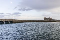 arrecife οχυρό Στοκ εικόνα με δικαίωμα ελεύθερης χρήσης