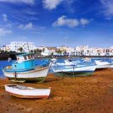 Arrecife σε Lanzarote Charco de SAN Gines Στοκ Εικόνες