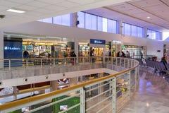 Arrecife airport duty free shops Stock Photos