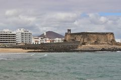 Arrecife, Capital of Lanzarote, Canary Islands, Spain. Royalty Free Stock Images