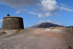 Arrecife, Castillo de SAN Gabriel Στοκ εικόνες με δικαίωμα ελεύθερης χρήσης
