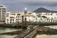 Arrecife City in Lanzarote, Spain, editorial stock photos