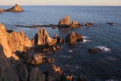 Arrecife de las Sirenas, España foto de archivo