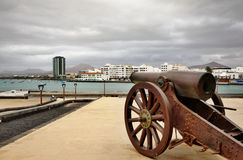 Arrecife harbor Stock Images