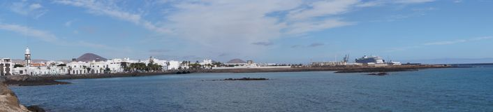 Arrecife Lanzarote Ισπανία Στοκ εικόνες με δικαίωμα ελεύθερης χρήσης