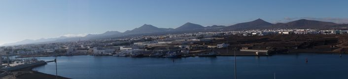 Arrecife Lanzarote Ισπανία Στοκ Εικόνα