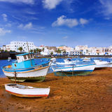 Arrecife in Lanzarote Charco de San Gines Stock Images