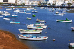 Arrecife in Lanzarote Charco de San Gines Royalty Free Stock Photos
