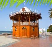 Arrecife Lanzarote Quiosco DE La Musica circus Stock Afbeeldingen