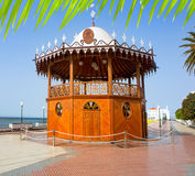 Arrecife Lanzarote Quiosco De Los angeles Musica cyrk Obrazy Stock