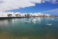 Arrecife, Lanzarote Royalty Free Stock Photography
