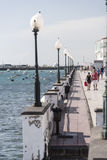 Arrecife promenade Stock Foto's