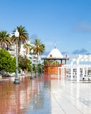 The Arrecife Waterfront on Avenida La Marina. The Arrecife waterfront on Avenida La Marina, on the island of Lanzarote Stock Photography