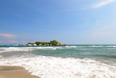 Arrecifes plaża, Tayrona park narodowy, Kolumbia Zdjęcia Stock