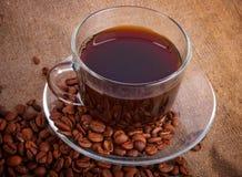 Arreglo con el café Imagen de archivo libre de regalías