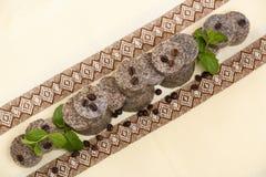 Arreglo de barras hecho a mano del jabón Fotografía de archivo libre de regalías