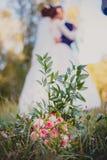 Arreglo de la boda foto de archivo