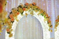 Arreglo de la boda Fotos de archivo libres de regalías