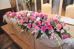 Arreglo de la flor Fotografía de archivo libre de regalías