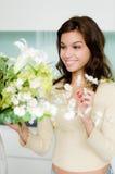 Arreglo de la flor Foto de archivo libre de regalías