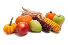 Arreglo de las frutas y verdura de la caída Fotografía de archivo libre de regalías