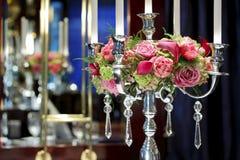 Arreglo de las rosas Imagen de archivo