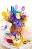 Arreglo de Pascua foto de archivo libre de regalías