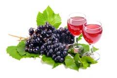 Arreglo de uvas Fotografía de archivo libre de regalías