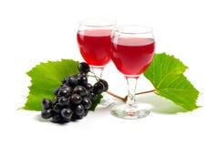 Arreglo de uvas Fotografía de archivo