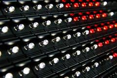 Superficie de pantalla LED Imágenes de archivo libres de regalías