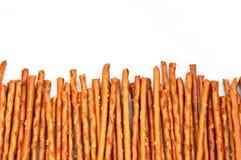 Arreglo del pretzel Roces/palillos Foto de archivo