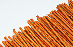 Arreglo del pretzel Roces/palillos Imagen de archivo libre de regalías