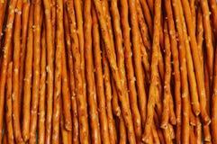 Arreglo del pretzel Roces/palillos Imágenes de archivo libres de regalías