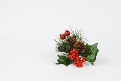 Arreglo festivo de la Navidad Imagenes de archivo