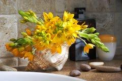 Arreglo floral fotos de archivo