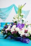 Arreglo floral hermoso Fotografía de archivo libre de regalías
