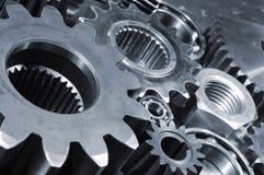 Arreglo industrial de los engranajes Fotografía de archivo