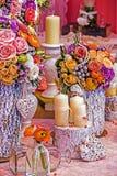Arreglo romántico especial fotos de archivo