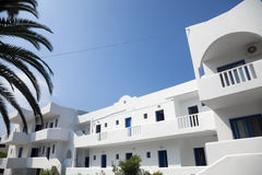 Arrendamentos da praia na área de Halkidiki Imagens de Stock