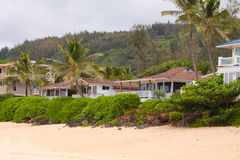 Arrendamentos havaianos da casa imagem de stock royalty free