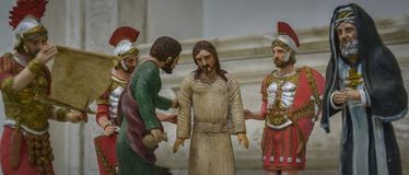 Arrest of jesus Stock Image