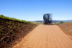 Arrest Site Of Nelson Mandela In Howick, KwaZulu-Natal Royalty Free Stock Photography