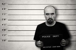 Arrestado Imagen de archivo libre de regalías