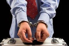 Arrestatie Royalty-vrije Stock Afbeelding