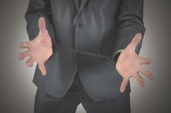 arrestatie royalty-vrije stock fotografie