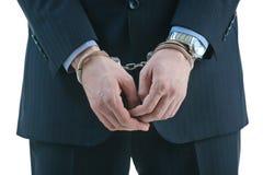 Arrestatie Royalty-vrije Stock Foto's