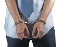 Arrestato Fotografia Stock