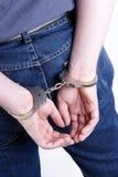 Arrestato Fotografie Stock Libere da Diritti